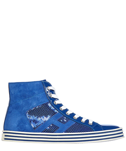 Zapatillas altas Hogan Rebel HXW1410801325Q369F blu