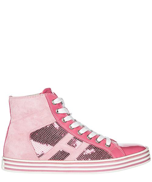 Sneakers alte Hogan Rebel R141 HXW1410801325QM412 rosa