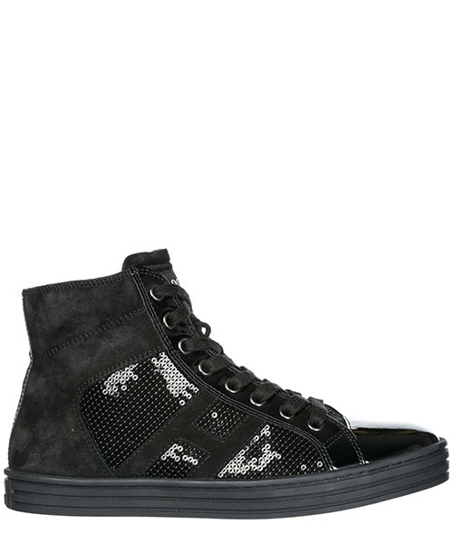 High top sneakers Hogan Rebel R141 HXW1410801425Q9996 nero