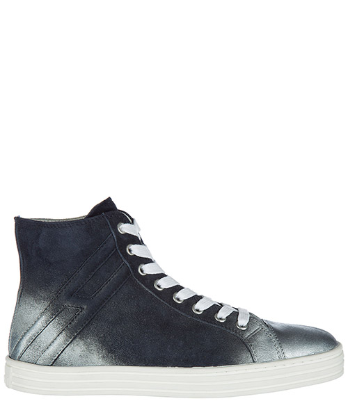 High top sneakers Hogan Rebel R141 HXW14109563CR0U810 blu