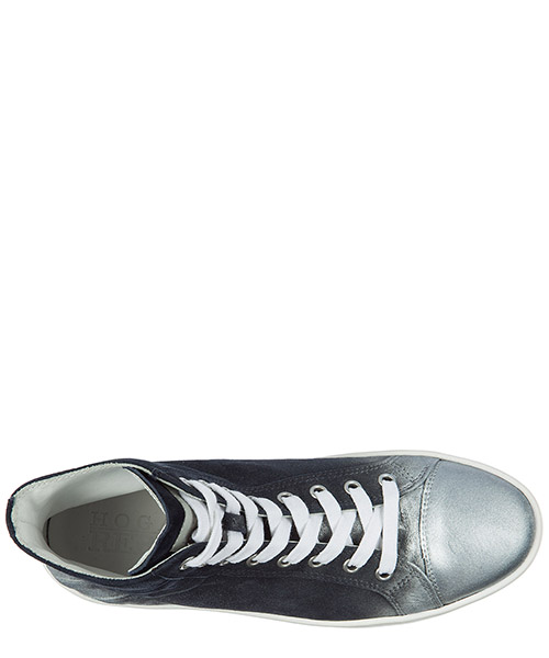 Damenschuhe damen wildleder schuhe high sneakers r141 secondary image