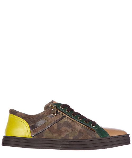Sneakers Hogan Rebel HXW1410P02077J568K marrone