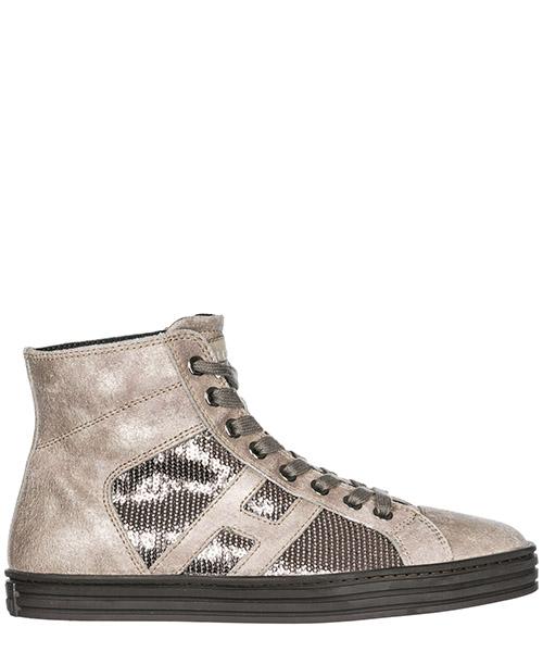 Sneakers alte Hogan Rebel R141 HXW1410P991DWE699F argilla palude