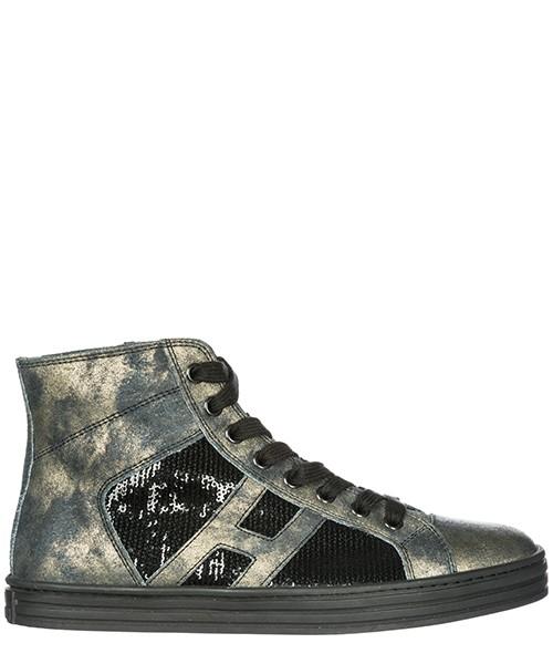 Sneakers alte Hogan Rebel R141 HXW1410P991DWEB999 nero