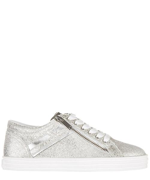 Sneakers Hogan Rebel HXW1410Q450BXD0351 argento