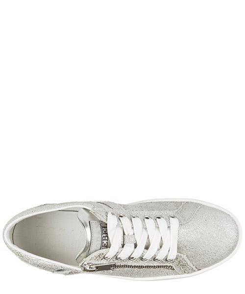 Scarpe sneakers donna in pelle rebel r141 zip secondary image
