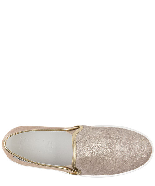 Slip on donna in camoscio sneakers  r141 secondary image