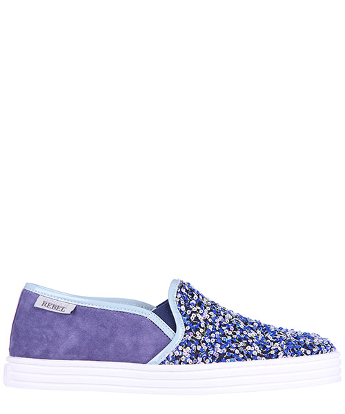 Slip on Hogan Rebel HXW1410Q560BXH0T09 viola