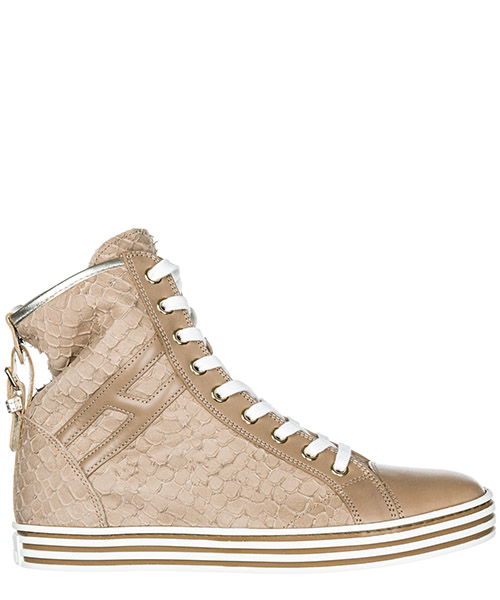 Sneakers Hogan Rebel R182 HXW1820D6608CS191Y beige