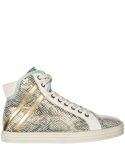 Sneakers alte Hogan Rebel R182 HXW1820I650BXN0T10 oro