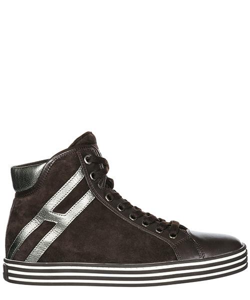 Sneakers alte Hogan Rebel R182 HXW1820I6517EJ578J marrone