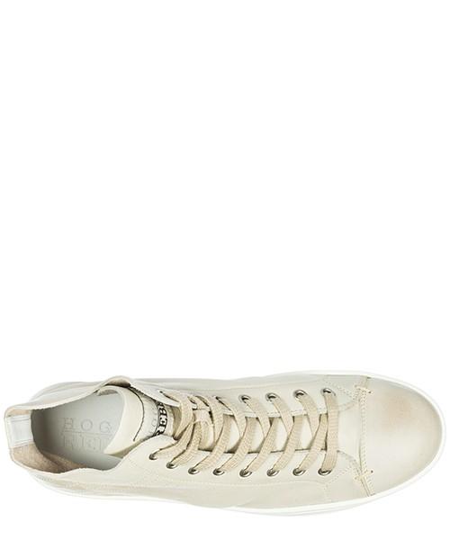Damenschuhe damen leder schuhe high sneakers r182 vintage secondary image