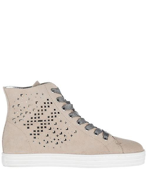 High top sneakers Hogan Rebel HXW1820X330FFY070J beige