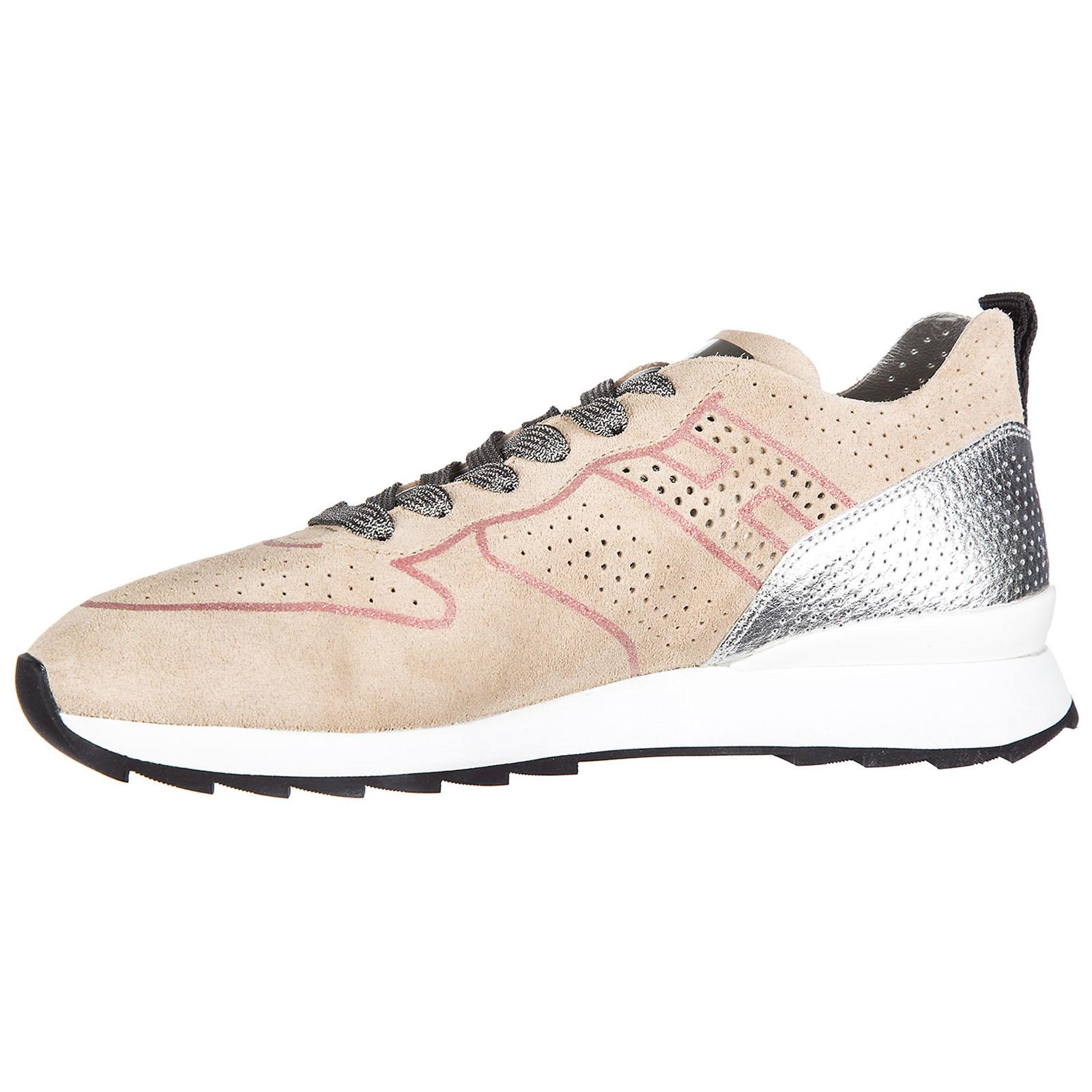 5e24b875674 ... Chaussures baskets sneakers femme en daim r261 ...