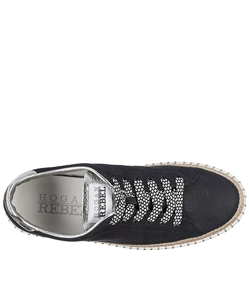 Scarpe sneakers donna in pelle rebel r260 secondary image