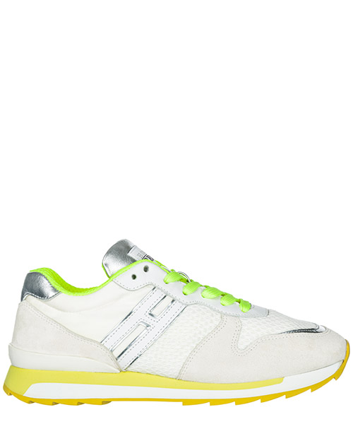 Sneakers Hogan Rebel Running - R261 HXW2610Q900C9M0351 argento bianco