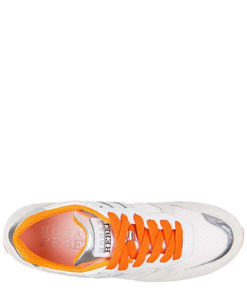 Scarpe sneakers donna camoscio r261 allacciato secondary image