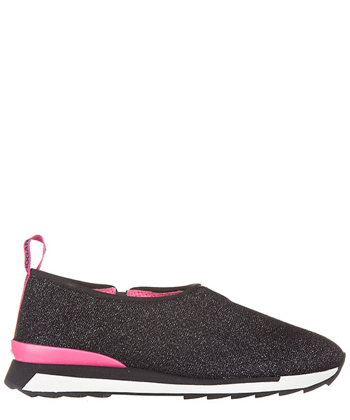 Scarpe slip on Hogan Rebel Running - R261 HXW2610U57095XB999 nero