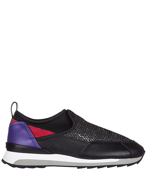 Slip on Hogan Rebel Running - R261 HXW2610V410E1O0BB2 nero