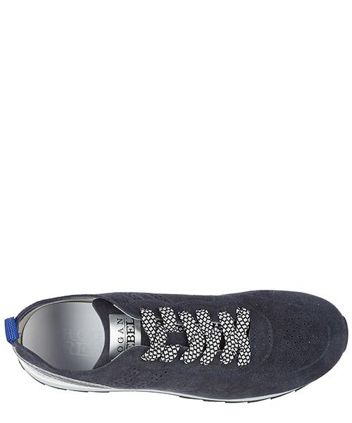 Scarpe sneakers donna camoscio r261 secondary image