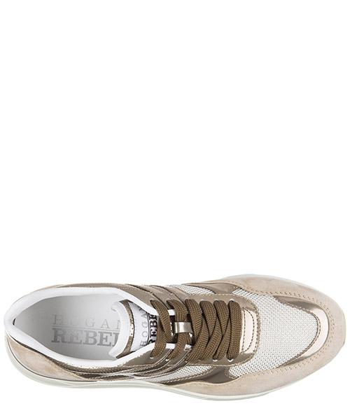 Scarpe sneakers donna camoscio r296 allacciato secondary image