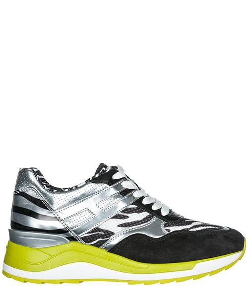 Sneakers Hogan Rebel R296 HXW2960V142D5Q0L96 argento