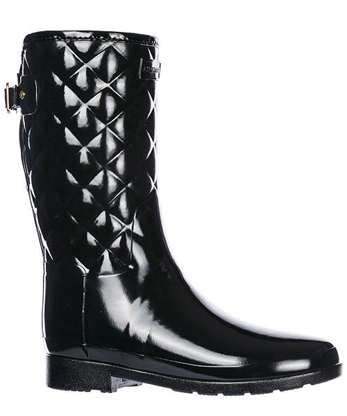 Botas de lluvia mujer en goma short gloss secondary image