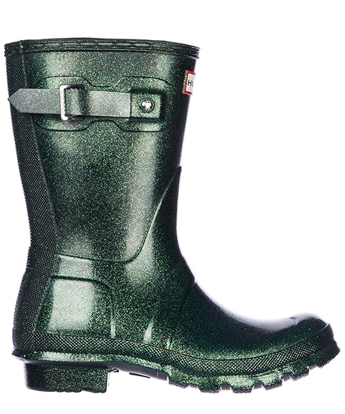 Bottes en caoutchouc Hunter Wellington Short WFS2000RGT-AGN atlas green