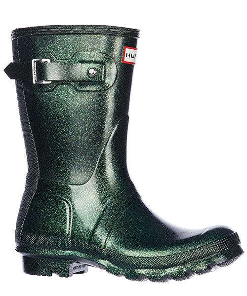 Women's rubber rain boots wellington short starcloud secondary image