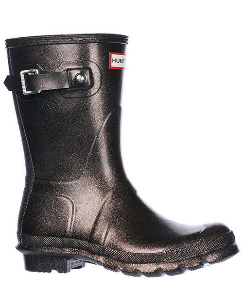 Women's rubber rain boots wellington short starcloud secondary image