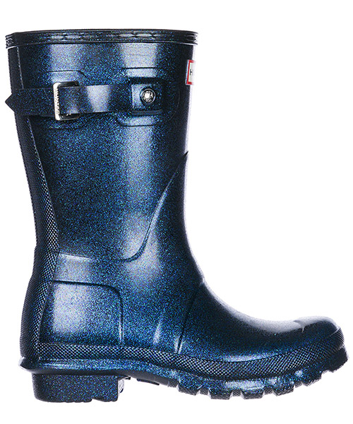 Bottes en caoutchouc Hunter Wellington Short WFS2000RGT-NEP neptune