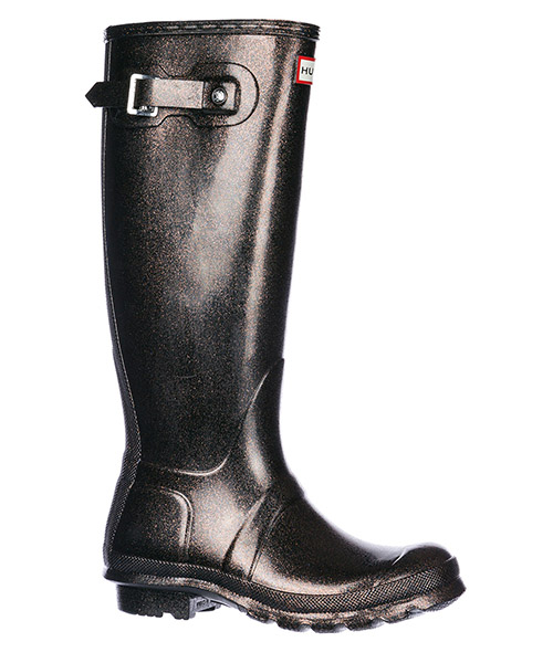 Women's rubber rain boots wellington tall starcloud secondary image