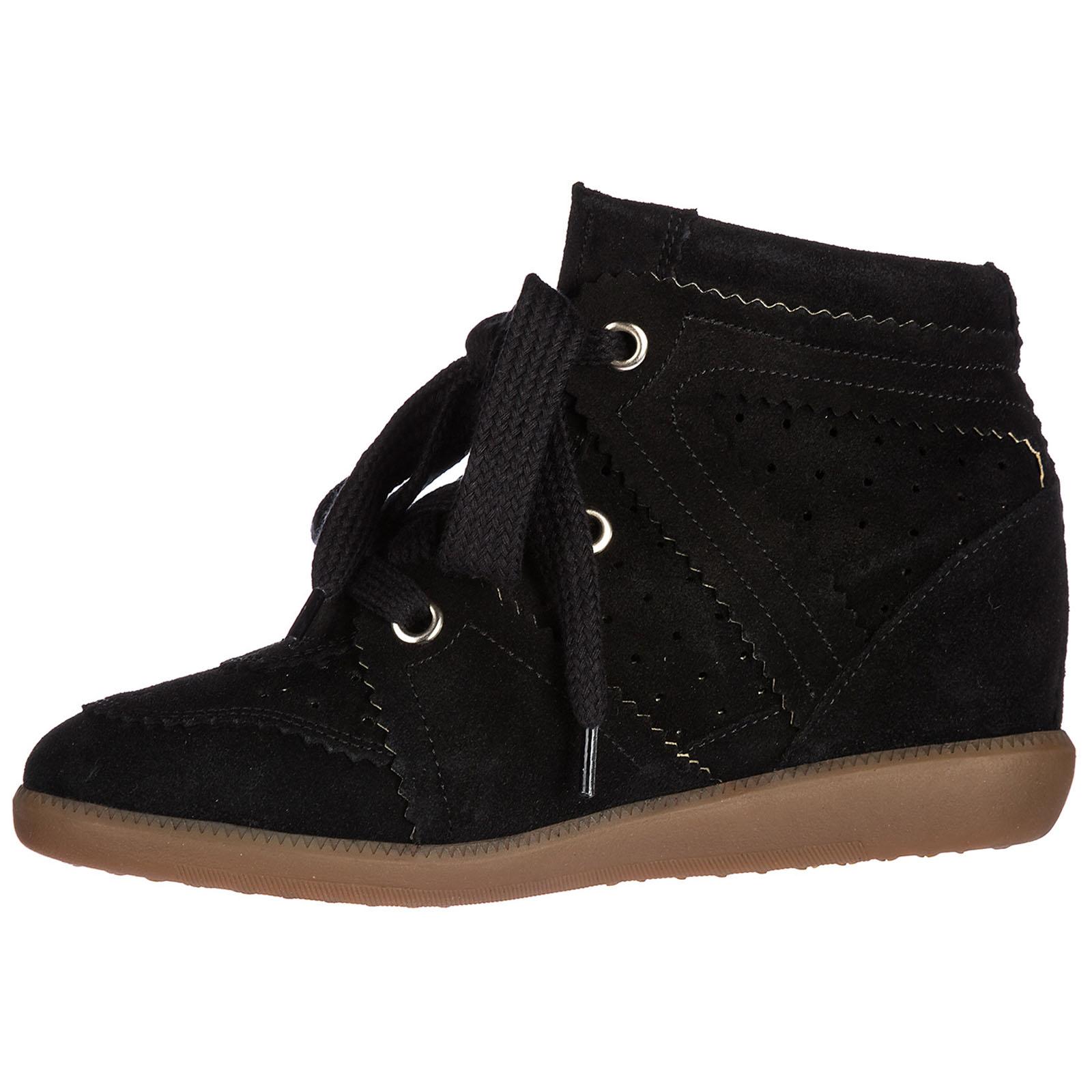 Sneakers con zeppa Isabel Marant BK0003 00M102S nero  4f4548d4080