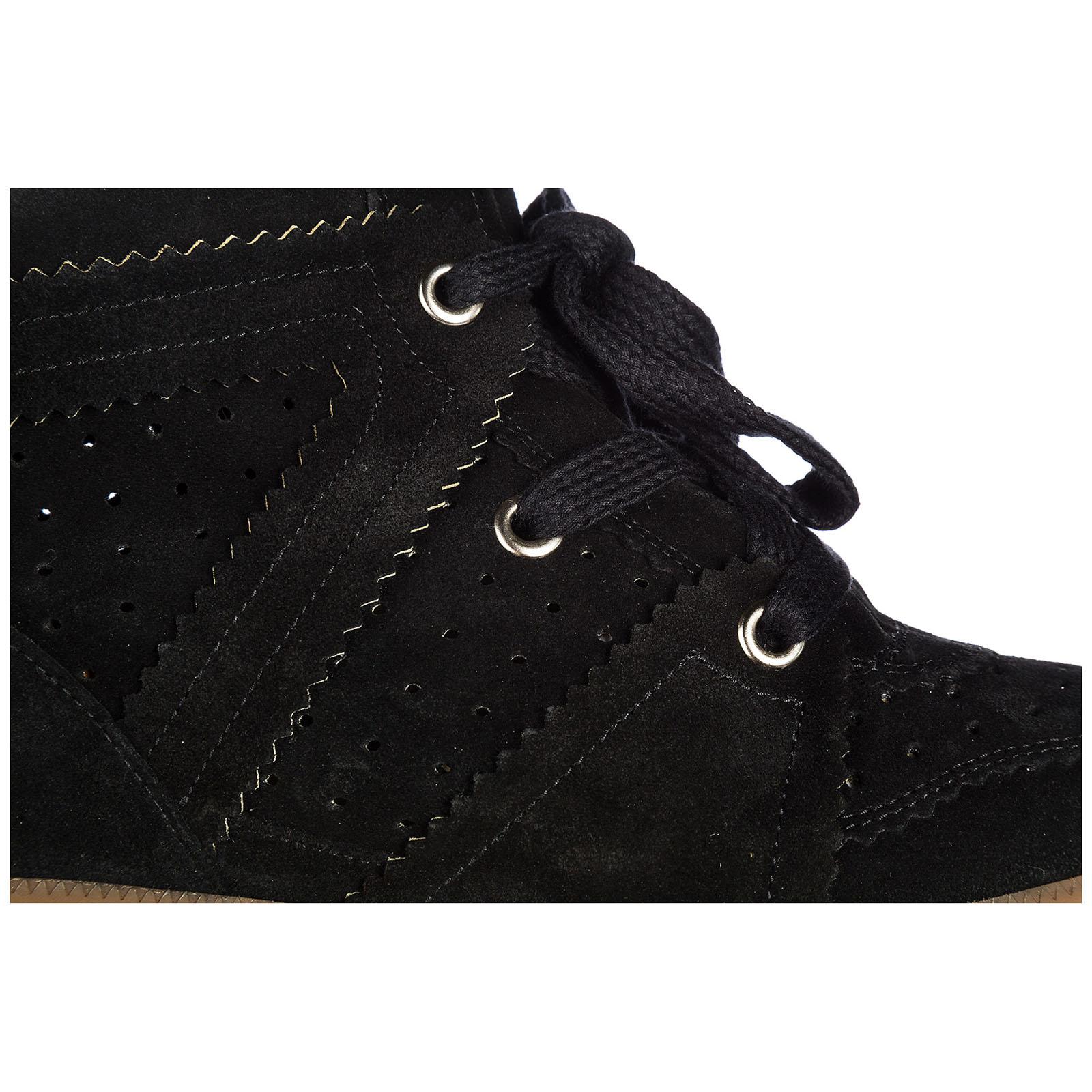 Con Marant Isabel Nero Bk0003 Sneakers Zeppa 00m102s qwxgv4
