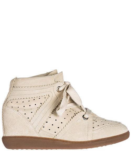 Sneakers con zeppa Isabel Marant BK00032 00M102S chalk