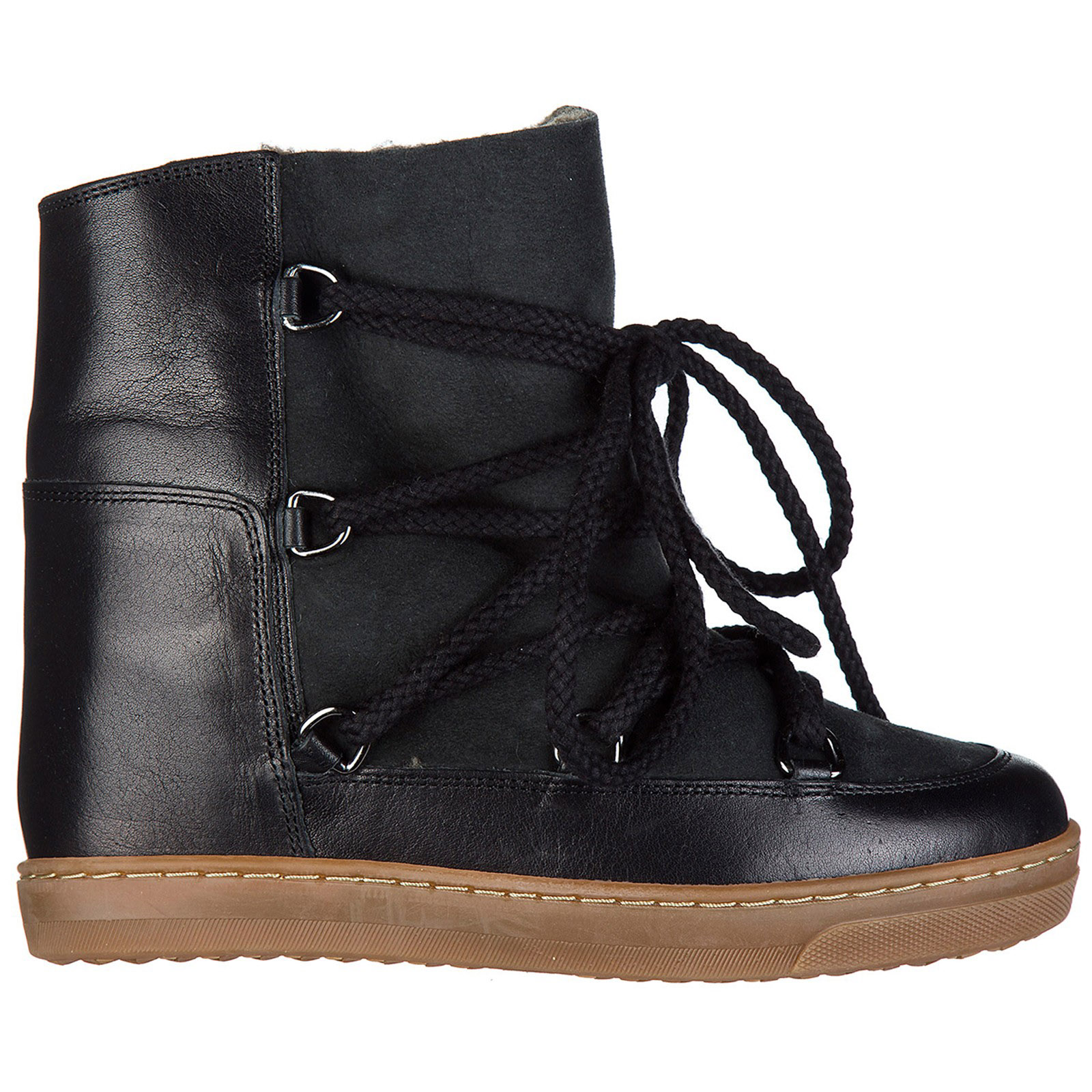 WOMEN'S LEATHER ANKLE BOOTS BOOTIES NOWLES