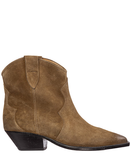 Heeled ankle boots Isabel Marant dewina bo0174-19a006s 50ta taupe