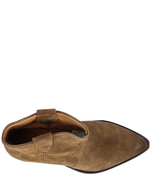 Stivaletti stivali donna con tacco camoscio dewina secondary image