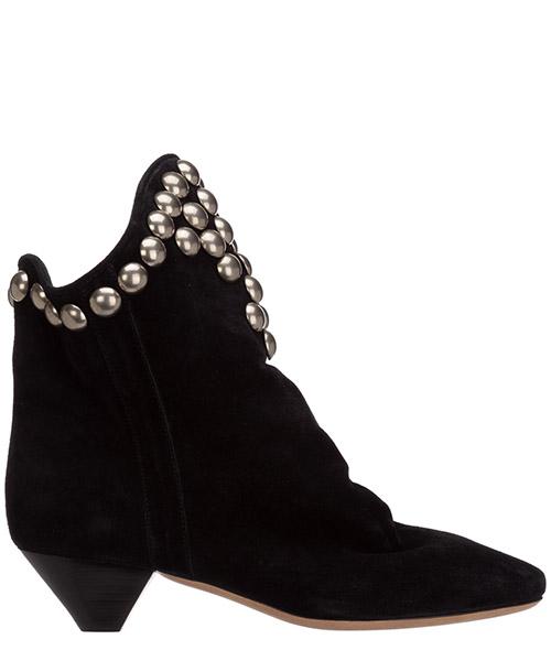 Heeled ankle boots Isabel Marant doey BO031620H005S01BK nero