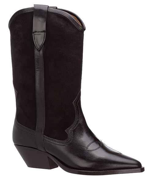 Women's leather heel boots dandrea secondary image