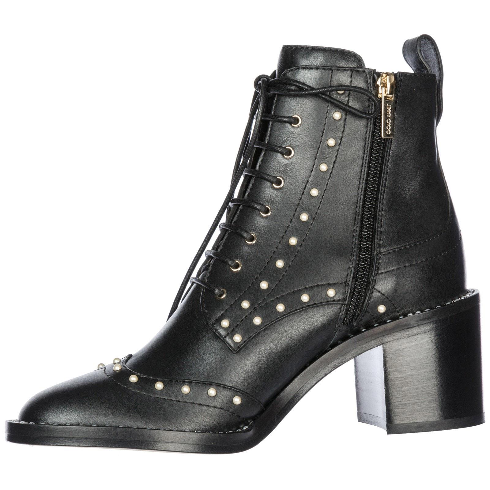 Heeled ankle boots Jimmy Choo Hanah 65