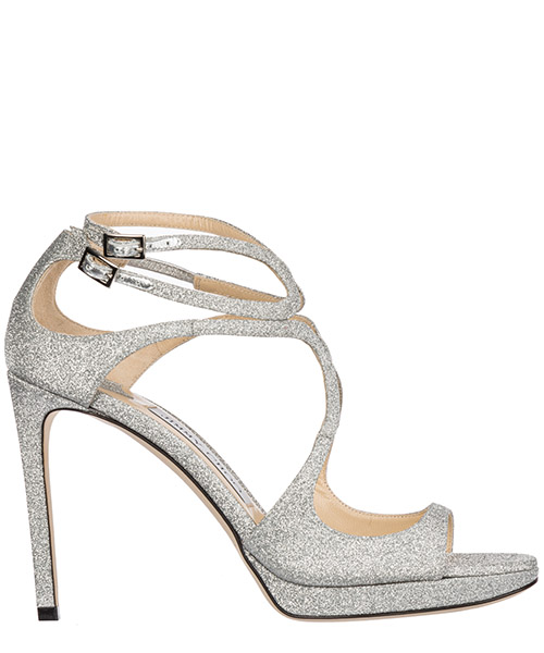 Sandals Jimmy Choo Lance/Pf LANCEPF100XGC silver