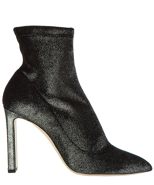 Heeled ankle boots Jimmy Choo louella 100 louella anthracite