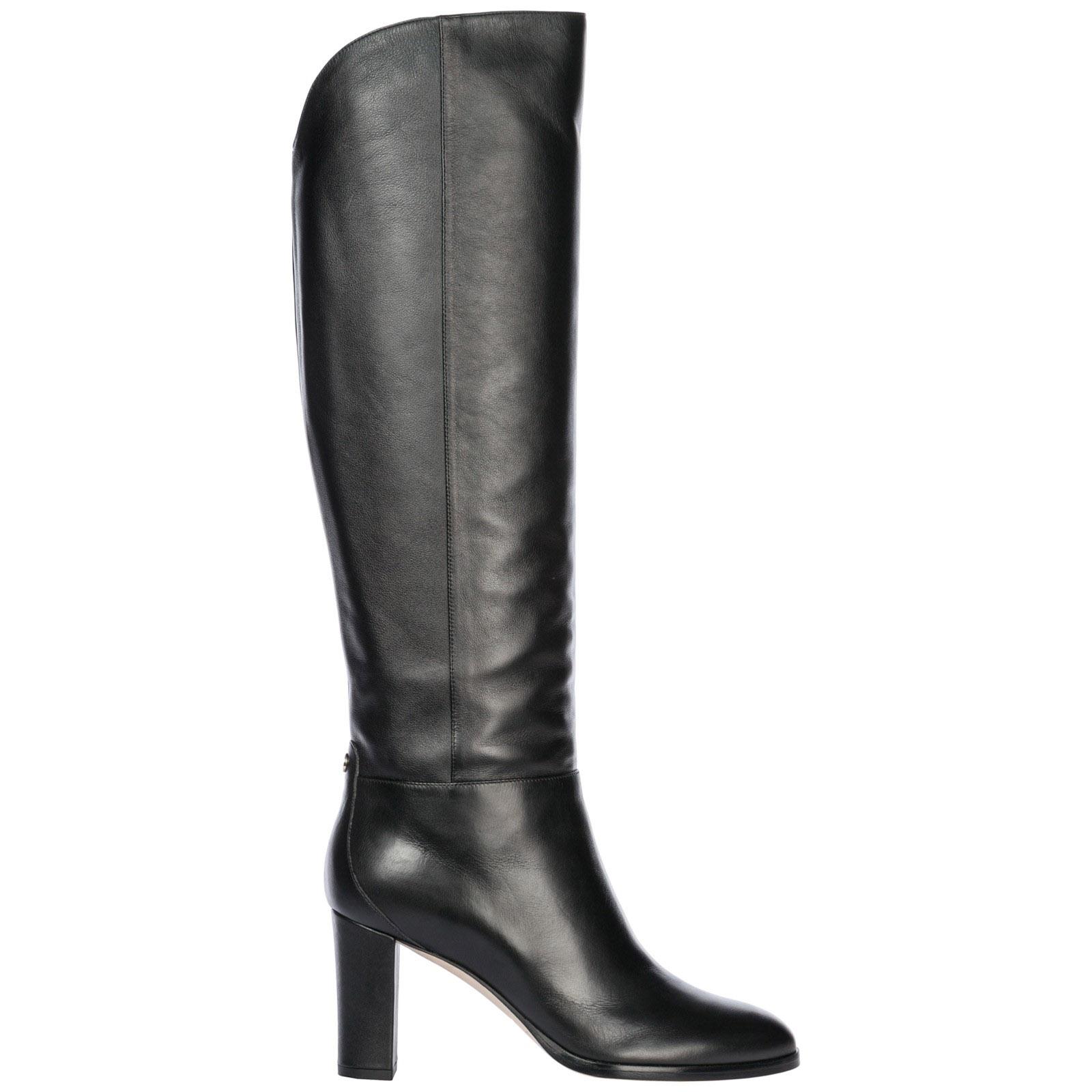01a2c19d9df Jimmy Choo Women S Madalie 80 High Block-Heel Boots In Black