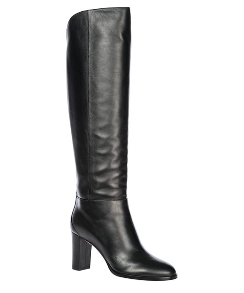 Women's leather heel boots madalie 80 secondary image