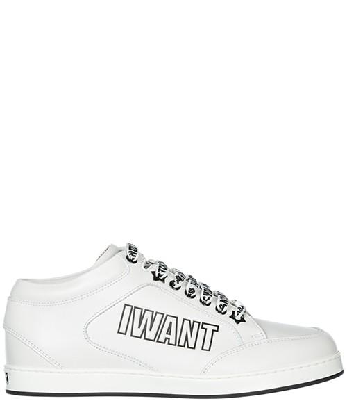 Sneakers Jimmy Choo Miami MIAMI29NLBCHALBK bianco