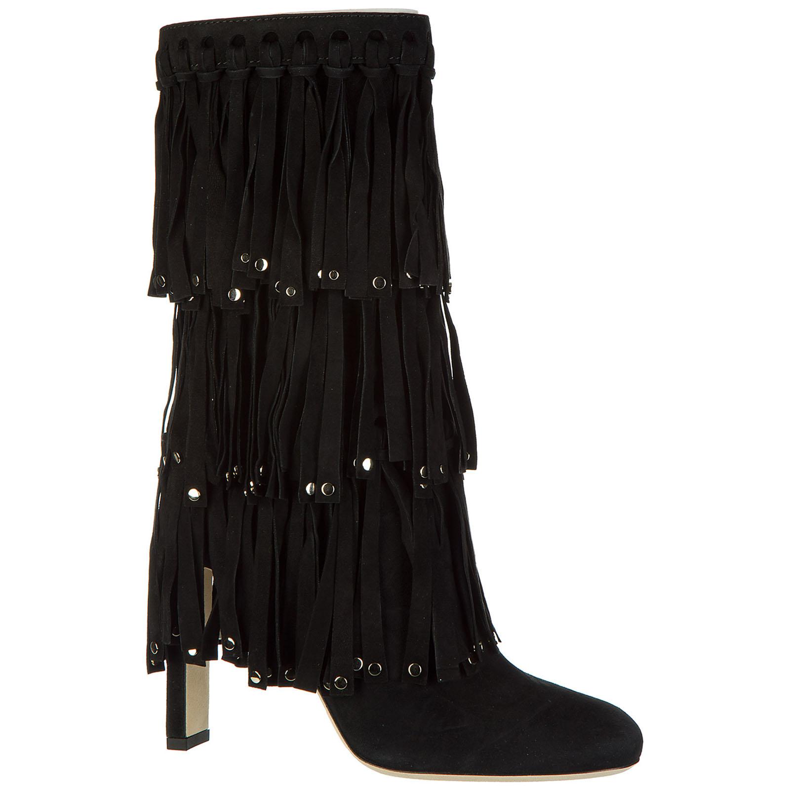 Women's suede heel'ankle boots booties mystery 100