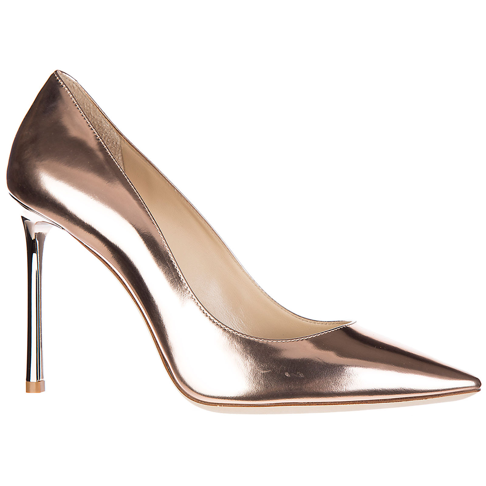 Damenschuhe leder pumps mit absatz high heels romy