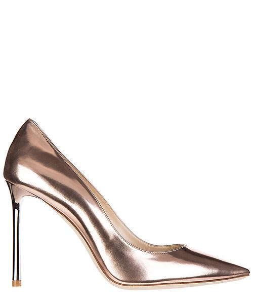 Decolletes decoltè scarpe donna con tacco pelle romy