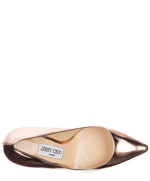 Decolletes decoltè scarpe donna con tacco pelle romy secondary image